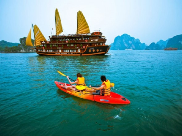 Halong (2 days, 1 night)