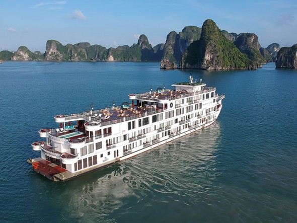 President cruise - Halong Bay 2 days 1 night